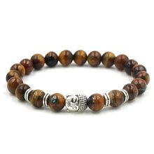 2019 new Buddha Beads bracelet Classic Natural Stone couple Bracelets for Men Women Fashion Jewelry Accessories best gift(China)