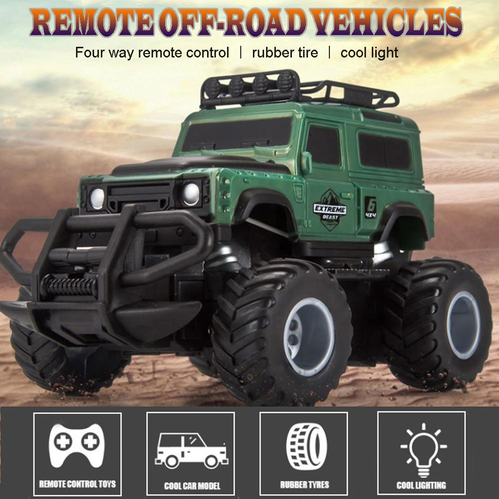 Easy to Control Remote Controlled Truck Car Radio Control Toys Car for Kids Off-road Truck Country High Speed Cars Rc Car
