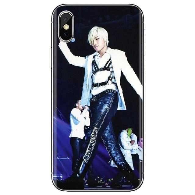 K-POP Store DaeSung suave del teléfono funda para samsung Galaxy A10 A30 A40 A50 A60 A70 S6 activo Nota 10 Plus M30