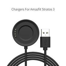 Зарядное устройство для смарт часов amazfit stratos 3 moshou