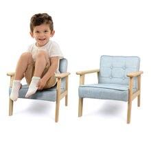 Детский диван и стул детский маленький из цельного дерева детская