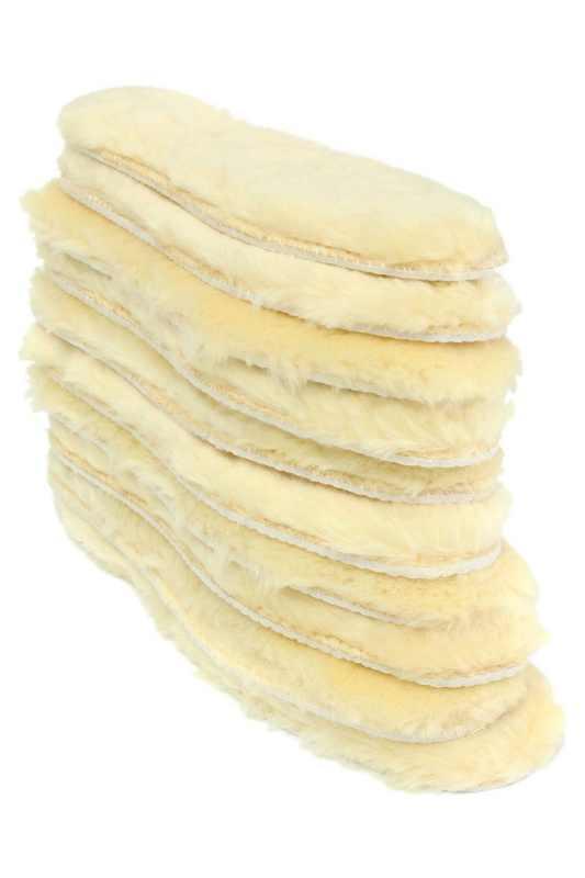 LJL-erkekler kadınlar koyun derisi tabanlık pedleri değiştirme kışlık botlar yağmur botları sarı