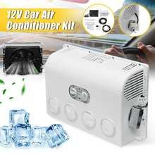 Aire acondicionado inversor montado en la pared, deshumidificador de aire, ventilador de refrigeración para coche y caravana, camión, 12V/24V