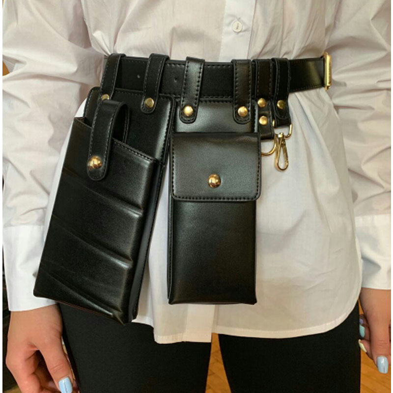 Women Waist Pack Leather Fanny Pack Luxury Women Belt Bag Crossbody Bags For Women Casual Chest Pack Female Purse
