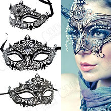 Wholesale Halloween  Women Sexy Rhinestones Eye Mask Masquerade Spoof Costumes Carnival Party Mask for Anonymous Mardi Hot mcyh masquerade spoof halloween mask props costumes