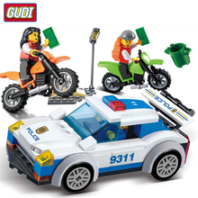 Models building toy 9311 City High Speed Police Chase Blocks 158pcs Building compatible with city legoinglg & hobbies