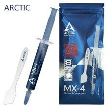 Artic — Pâte à plâtre, kit de processeur intel amd, refroidisseur, graisse thermique, vga, 2g 4g 8g 20g, MX-4
