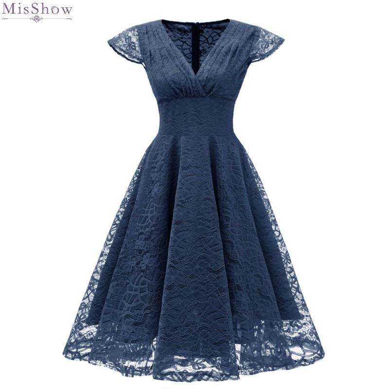 Cocktail     Dresses   2019 Sexy Lace robe de coctail   dress   A line Short Formal Party   Dress   Prom   Dresses   Swing Vestidos