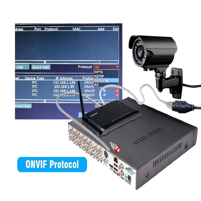 JOOAN 4216T 16CH CCTV DVR H.264 HD-OUT P2P Καταγραφέας - Ασφάλεια και προστασία - Φωτογραφία 6