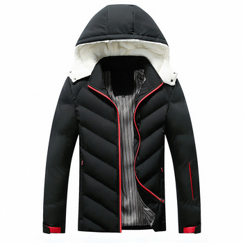 2019 New Thick Hooded Veste Hiver Homme
