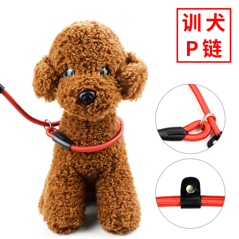 Plastic Buckle P Pendant Pet Supplies Training Control Dog Rope Leash Game Lanyard