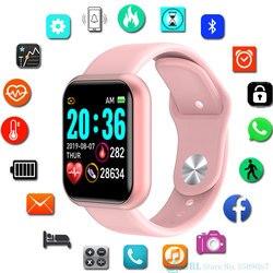 Y68 Smart Watch Kids Children Smartwatch For Girls Boys Electronic Smart Clock Students Child Sport Smart-watch Aged 3-18 Year