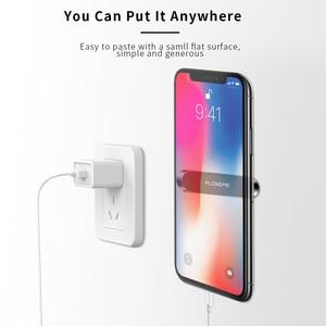 Image 4 - Soporte magnético de teléfono de coche FLOVEME para teléfono en coche soporte de teléfono de banda magnética fuerte para iPhone 11 Pro Samsung Universal Suporte