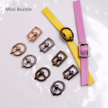 20/50/100pcs Mini Doll Belt Buckle Ultra Small Tri-glide Buckle for Doll Clothes Blyth BJD Shoes Bag DIY Accessories