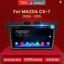 Junsun V1 2G + 32G Android 10.0 Auto Radio Multimedia Speler Navigatie Voor Mazda Cx-7 Cx7 2008 2009 2010 2011 2012 2013 2014 2015