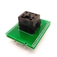 QFN40 MLF40 Programmierung Buchse IC550 0404 012 G IC Test Buchse Pitch 0 5mm Clamshell Chip Größe 6*6 Adapter SMT test Buchse-in Werkzeugteile aus Werkzeug bei