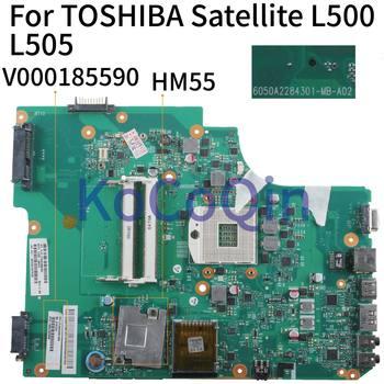 Placa base para ordenador portátil KoCoQin para TOSHIBA Satellite L500 L505 mainv000185590 HM55