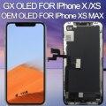 استبدال آيفون X OLED شاشة الكريستال السائل GX محول الأرقام الجمعية آيفون x شاشة lcd آيفون XS ماكس LCD Amoled ثلاثية الأبعاد اللمس