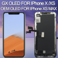 Ersatz Für iphone X OLED LCD Display GX Digitizer Montage Für iphone x LCD Screen Für iphone XS MAX LCD amoled 3D Touch-in Handy-LCDs aus Handys & Telekommunikation bei