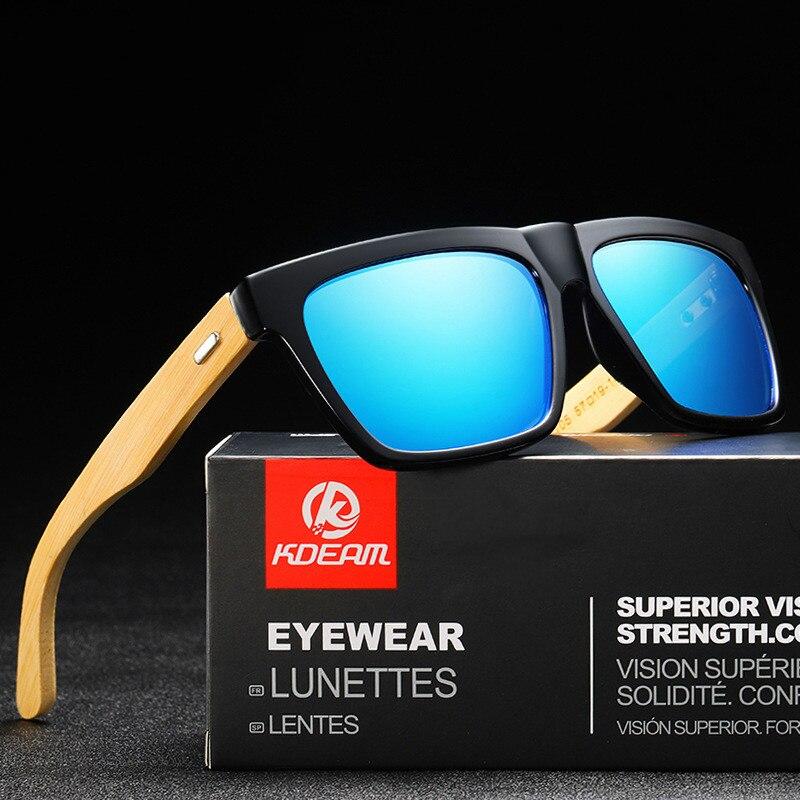 2021 New Wood Frame Sun Glasses Men Women Male Goggle Classic Polarized Sunglasses Driving Square Glasses UV400 Gafas De Sol