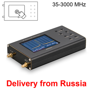 Image 1 - Portable RF Spectrum Analyzer Arinst Spectrum Explorer SSA TG R2 with tracking generator 3 GHz