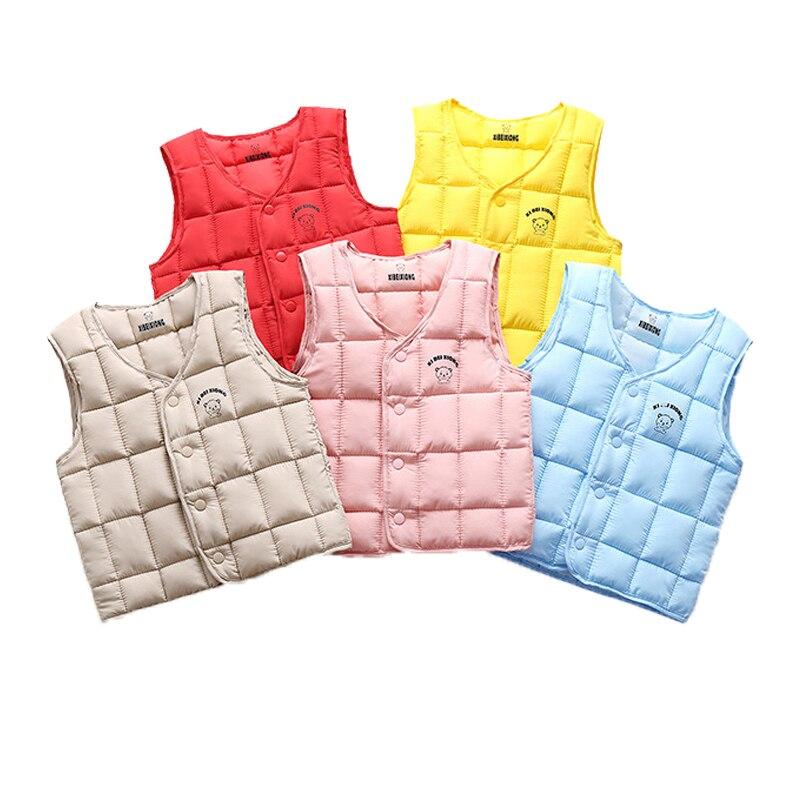 Осень 2020, теплый пуховый жилет для мальчиков, детский утепленный жилет, Детская верхняя одежда, жилеты, детская одежда, От 2 до 6 лет куртки для мальчиков и девочек, жилет Жилеты и безрукавки    АлиЭкспресс