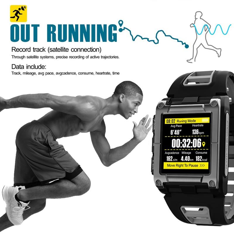 IP68 étanche tensiomètre montre intelligente fréquence cardiaque numérique tensiomètre Portable santé sport sphygmomanomètre GPS Sm