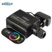 Moteur à Fiber optique, 16W, RGBW LED, conducteur avec télécommande RF tactile, éclairage LED à effet ciel étoilé, garantie de 2 ans