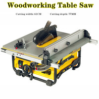10 inch woodworking bench saw household mini multi function cutter push bench saw