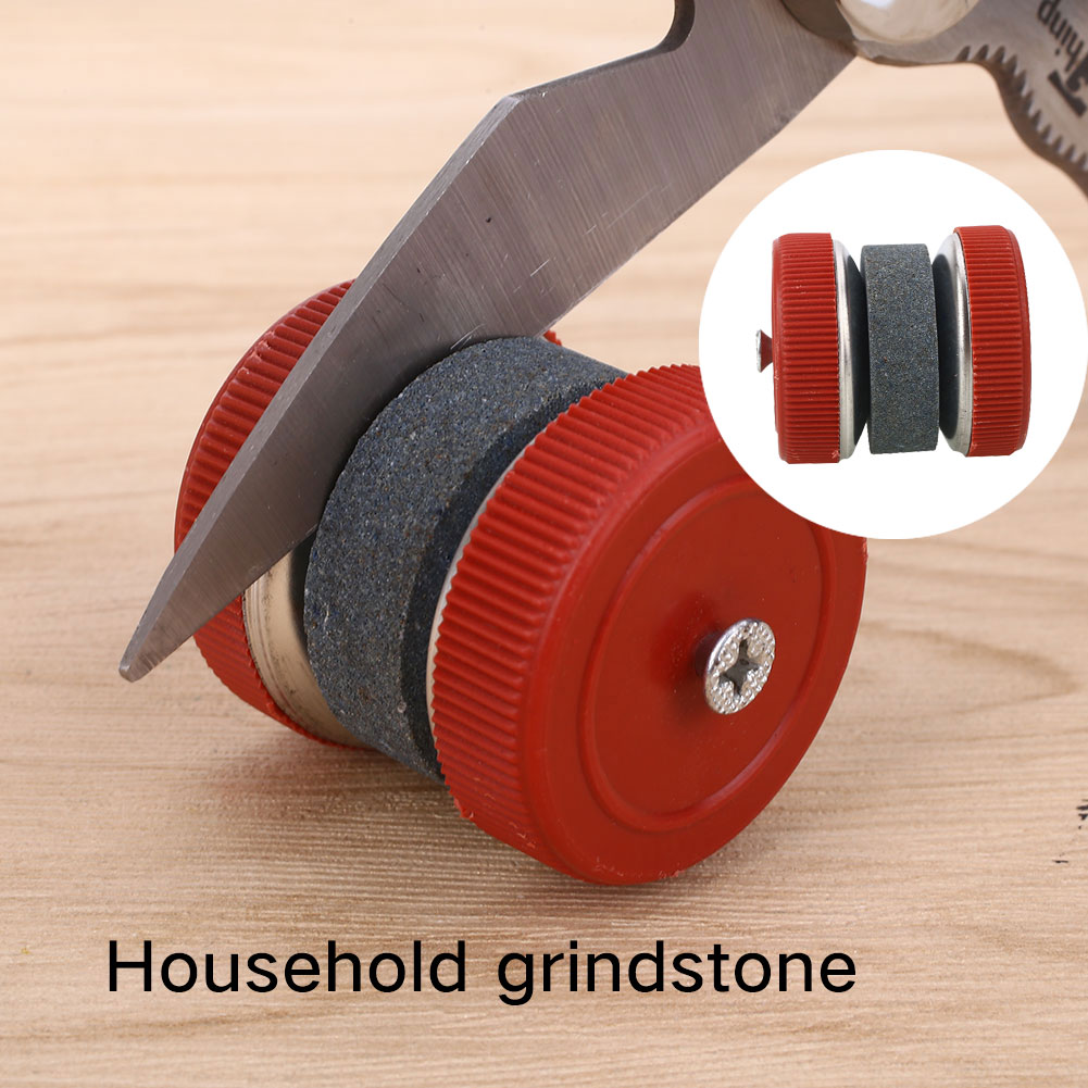 Knife Sharpening Stone Grindstone Kitchen Round Shape Fast Home Grinding Stones Kitchen Tools Efficient Sharpeners