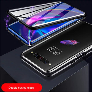 Image 4 - For Nubia Z20 Smartphone Aluminum Metal Bumper & 9H Tempered Glass Magnet Phone Case Protective Cover for ZTE Nubia Z20 Phone