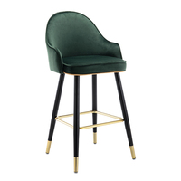 Light Luxury Bar Chair Household High Stool Modern Simple Island Platform Front Desk Back