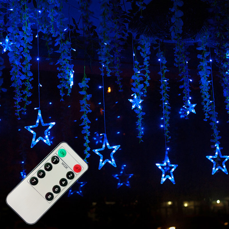 LED-Curtain-String-Lights-Remote-Controller-Romantic-Fairy-Star-Christmas-Lights-For-Holiday-Wedding-Garland-Party (2)
