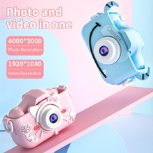1080P 2000W 2 Inch Toy Camera External Silicone Protection Case Mini Digital Camera For