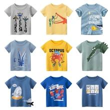 New 2021 Summer children's clothing boys grils toddler baby short sleeve T-shirt kids sweatshirt child's cotton clothes t shirt