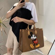 Bag Handbag Mickey Disney Messenger-Bag Single-Shoulder Pu-Bag Mobile-Phone Multifunctional