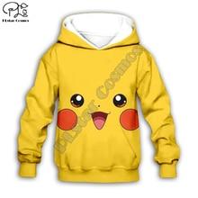 Kids Cloth Pokemon  Pikachu Cartoon 3d hoodies/tshirt/boy sweatshirt Hot Movie pant style-12