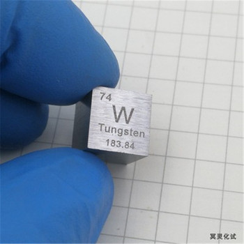 Tungsten Cube +Copper cube+Titanium cube +Niobium cube+Nickel cube Metal Density Cube 10X10X10mm Set Of 5 Metals Cube фото