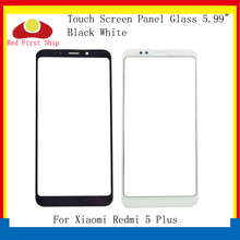 10Pcs/lot Touch Screen For Xiaomi Redmi 5 Plus Touch Panel Front Outer LCD Glass Lens For Redmi 5Plus Touchscreen Glass Panel touch glass touch screen panel new protect flim for 2711p t7c6a6 panelview plus 700