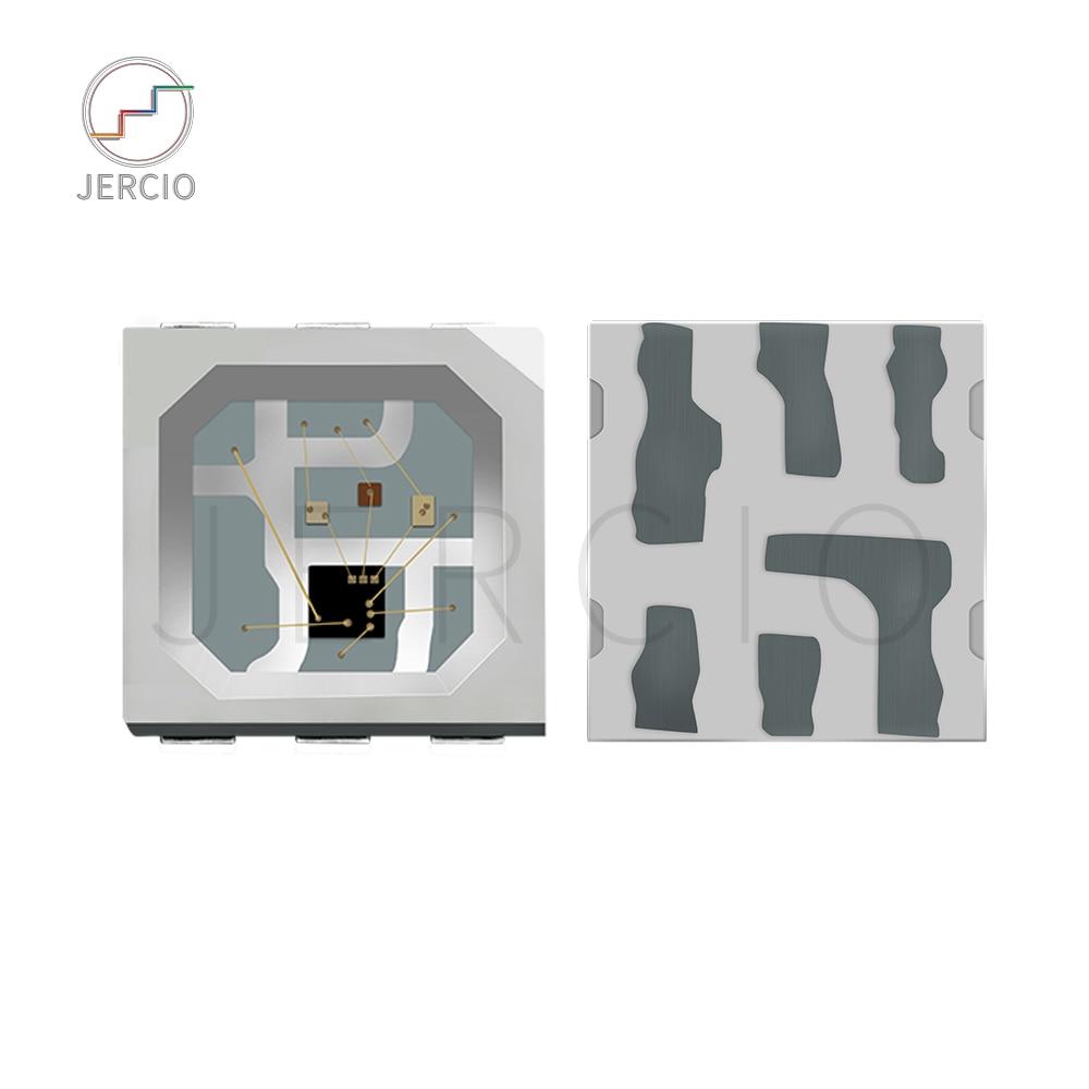 Jercio 10~1000pcs XT1505S (Similar with WS2813b or SK6812) 3535 RGB Programmable White Individually Addressable SMD LED