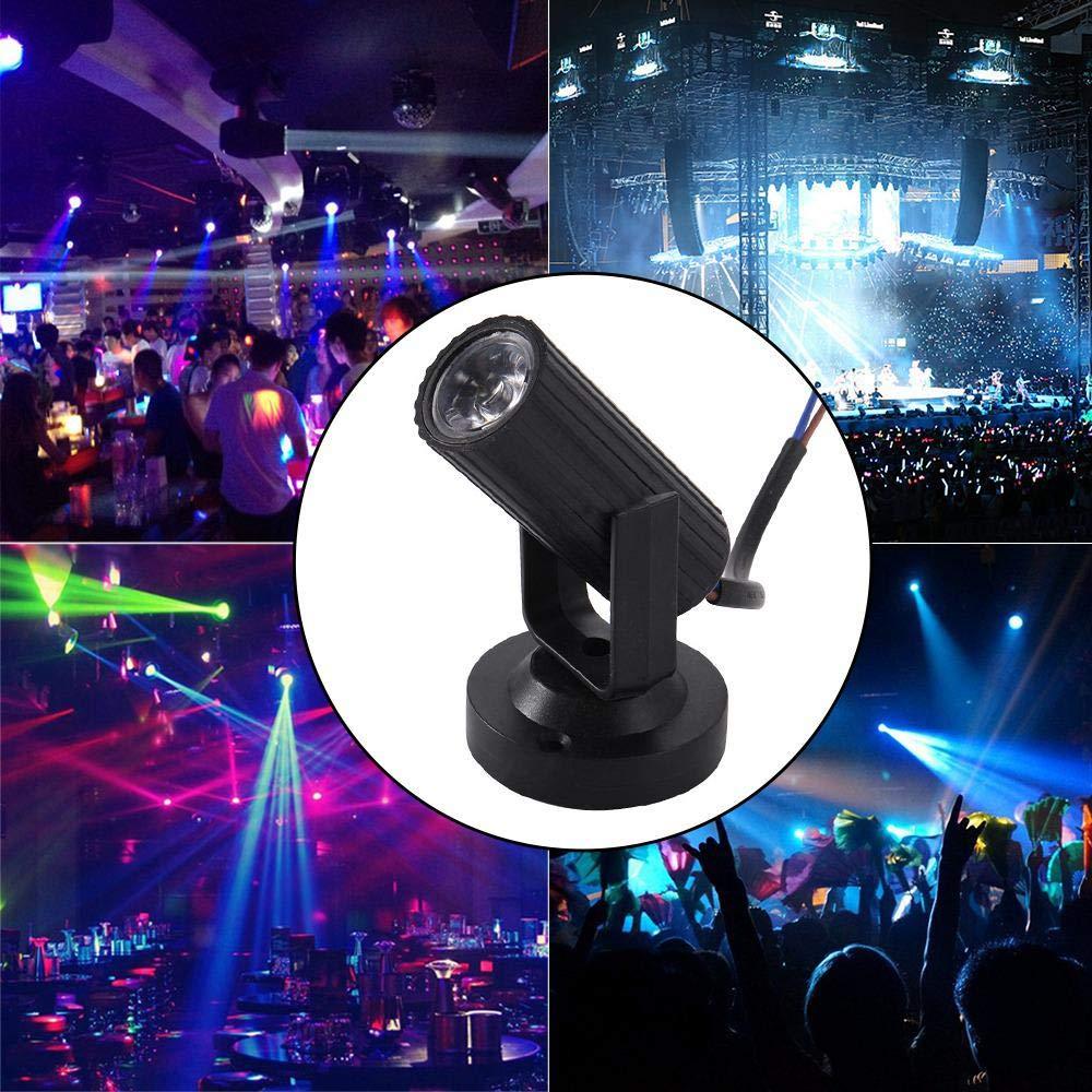 Multi-Color LED Spot Stage Effect Lights Mini Cob Beam Projector Light KTV Bar DJ Disco Light For Home Party Wedding Dance Floor
