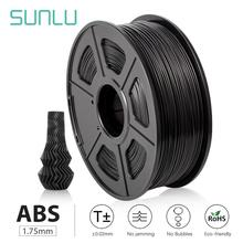 SUNLU 3D Printer ABS Filament 1.75mm 1kg/2.2lb with Dimensional Accuracy+/-0.02mm ABS Material for Most 3D Printer & 3D Pen