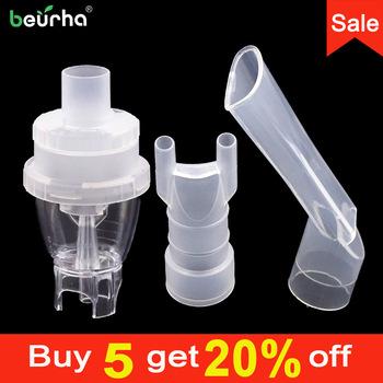 2 sztuk medyczne atomizowane puchar usta rury nosa sprężarki powietrza nebulizator butelka zbiornik domu alergii inhalator aerozol #8230 tanie i dobre opinie Beurha