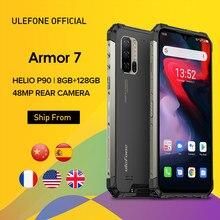 Ulefone-móvil Armor 7, Android 10, 2,4G/5G, 128GB + 8GB, Helio P90, IP68, cámara de 48MP, 4G LTE, versión Global