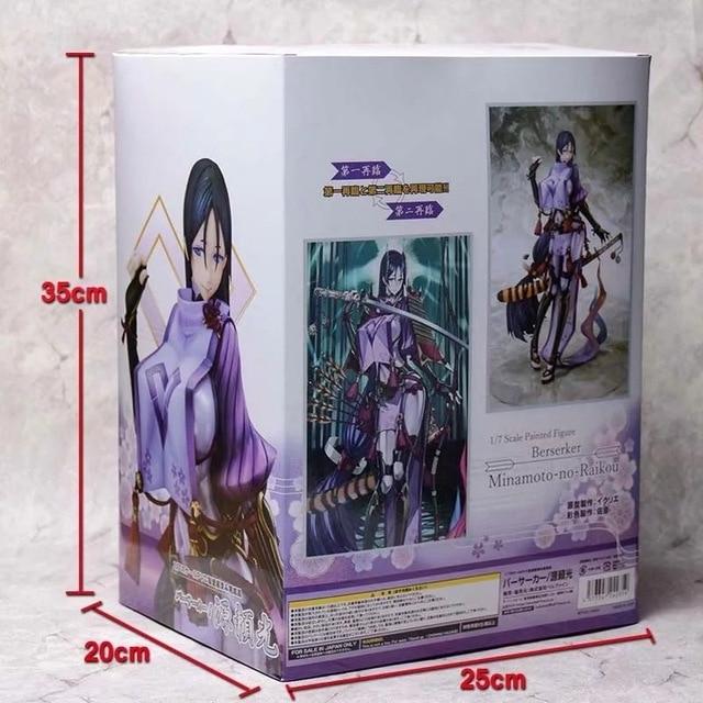 Kader/Grand Orde Berserker Minamoto hiçbir Raiko PVC Action Figure Anime şekilli kalıp oyuncaklar seksi kız şekil koleksiyonu bebek hediye