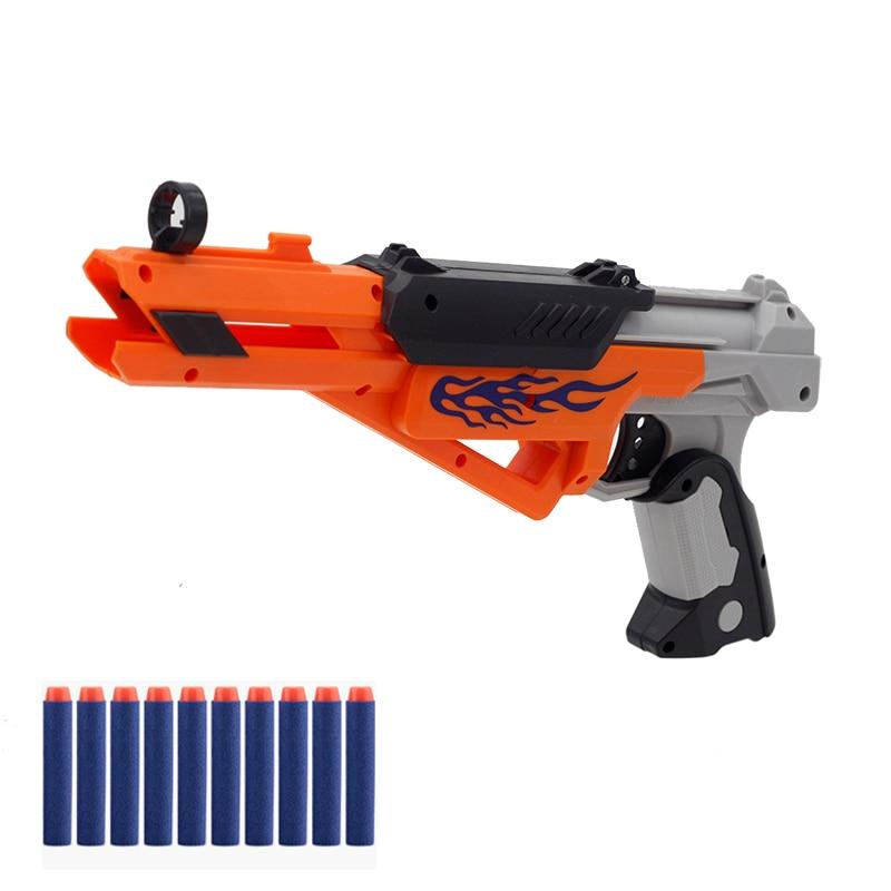Soft EVA Bullet Toy Gun Soft Bullets Suit For Bullet Darts Round Head Blasters Children Educational Toys Boys Birthday Gift