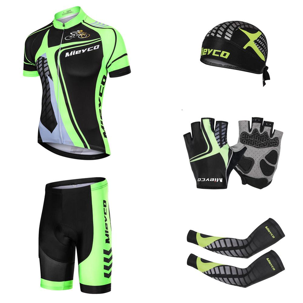 Big Discount Pro Team Cycling Jersey Set Print Jersey Men Bicycle Sportswear Bike Quick Dry Mtb Clothing Cycle Clothes Male