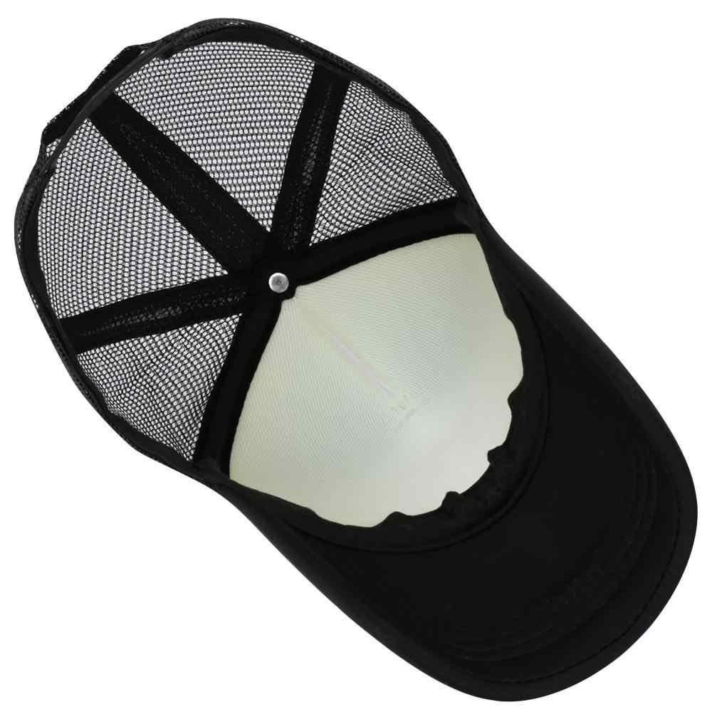 러시아 문자 죄송합니다 비문 인쇄 메쉬 남자 야구 모자 여자 snapback 야외 모자 조정 가능한 여름 힙합 캐주얼 바이저