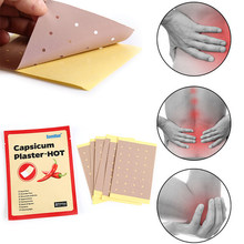 8Pcs/lot pain release Relaxing massage plasters New Pepper Far-infrared anti-inflammatory analgesic paste patch(China)