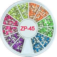 1 колесо микс неоновых цветов звезда форма ногтей шпильки 3d